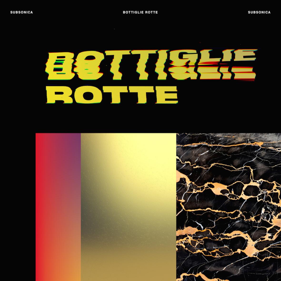 COVER SINGOLO SUBSONICA Bottiglie_Rotte